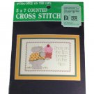 Designs for the Needle 7706 Once on the Lips Counted Cross Stitch Kit
