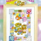 Patchwork Bears - Cross Stitch Pattern