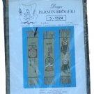Permin of Copenhagen Pendulum Clock Bookmark Embroidery Kit 5-1324