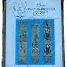 Permin of Copenhagen Owl Bookmark Embroidery Kit 5-1323