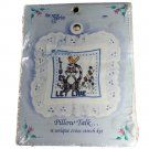 The New Berlin Co Pillow Talk, a unique Counted Cross Stitch Kit 2860 Live and Let Live