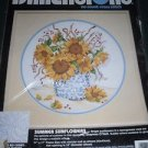 Dimensions No Count Cross Stitch Kit - Summer Sunflowers 17 x 17 Inches