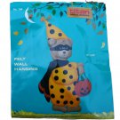 Titan Needlecraft 798 Halloween Trick or Treat Teddy Wall Hanging Felt Applique Kit