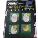 The Egg Came First Wall Quilt Pattern