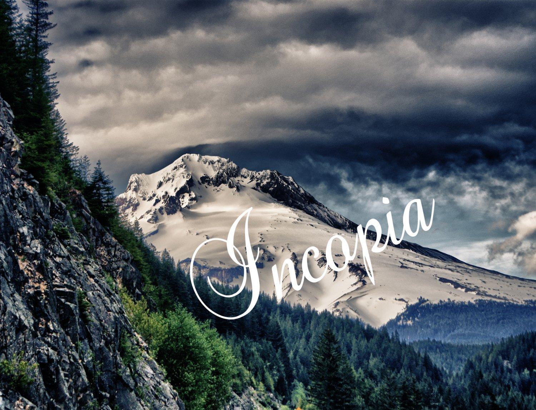 11x14 HDR Print of Mount Hood, Oregon