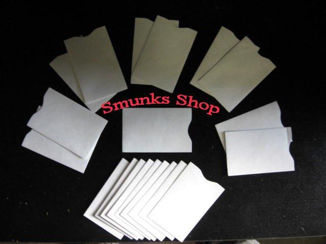 20 Tyvek Credit Debit Card Protector Sleeve Envelope