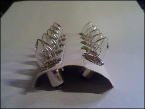 10 14.4 Volt Flashlight Bulbs 14.4v fits DeWalt 14 14V