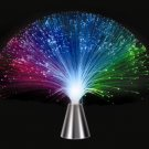 Rotating Color Changing Fiber Optic Light party lamp