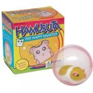 Hamusuta the Happy Hamster in ball runs toy running NEW