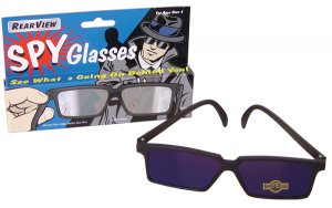 SPY GLASSES mirror Rearview see behind NEW Really works