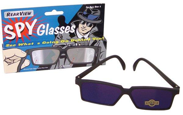 12 SPY GLASSES mirror Rearview see behind Really works