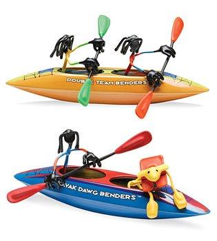 Kayak Dawg Double Team Joe Benders Toy Dog boat figure