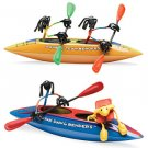 Double Team Kayak Joe Benders Toy Fun NEW boat figure
