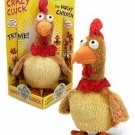 Crazy Cluck Wacky Chicken Song Dance Choke Toy Rooster