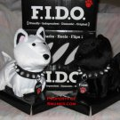 F.I.D.O. Flip Over Dog Toy Pet Walks Barks FIDO NEW