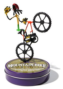 Mountain Bike Joe Benders Bender Toy bicycle Fun NEW