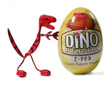 T-Rex Dino Bender Dinosaur Action Figure Benders