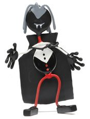 The Count Monster Bender Toy Tomb Tin halloween Cape