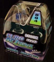 Blue 894  Xenon Gas Foglights clear white light Fog