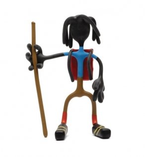 Hiking Jane Bender Toy figure with tin magnetic fun NEW