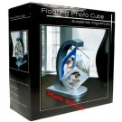 Floating Photo Cube pictures suspend magnetically NEW