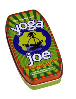 Yoga Joe Bender Benders Toy Fun NEW Action Figure gym hog wild tin magnet
