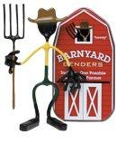 Farmer Joe Barnyard Bender Action Figure Benders Magnet