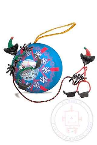 Rock Climbing Elves Bender Ornament Christmas tree NEW