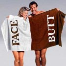 12 of The Original BUTT/FACE Towel GREAT Gag Gift Beach