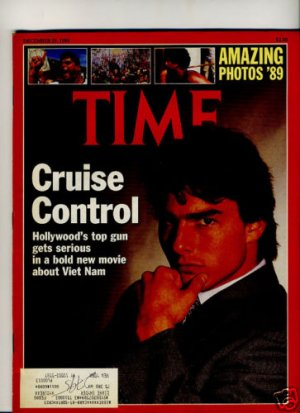Tom Cruise Time Magazine Berke Breathed 12/25/89
