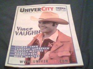UniverCity 10/98 Vince Vaughn, Jackie Chan, Janeane Garofalo