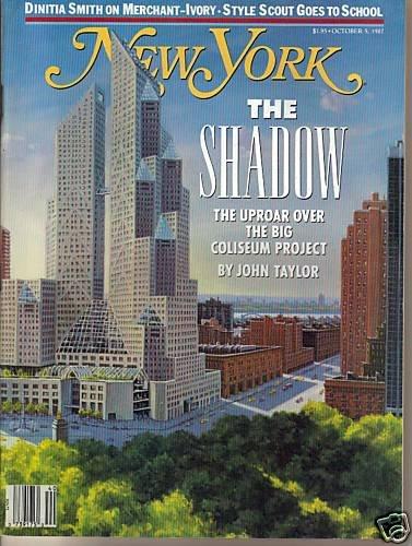 New York Mag 10/5/87 Ismail Merchant, James Ivory