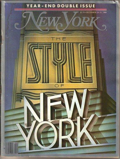 New York 12/84 Susan Sontag, Donald Trump, Mike Nichols, Phil Rizzuto