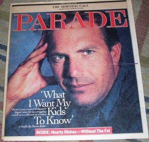 Kevin Costner Parade Magazine 1/20/91 James Whitmore