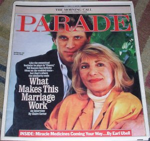 Ted Danson Cheers Parade 2/10/91 Sharon Gless
