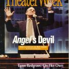 Theater Week 5/10/93 Angels in America Ron Leibman Lynn Redgrave