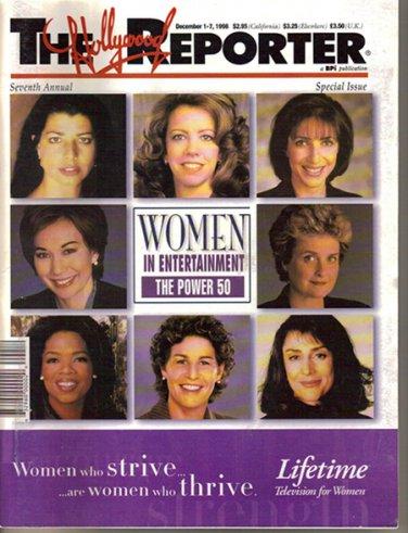 Hollywood Reporter 12/98 Women Oprah Sherry Lansing Lucy Fisher Pat Fili-Krushel