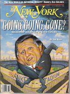 New York Magazine 8/6/1990 New York Yankees George Steinbrenner
