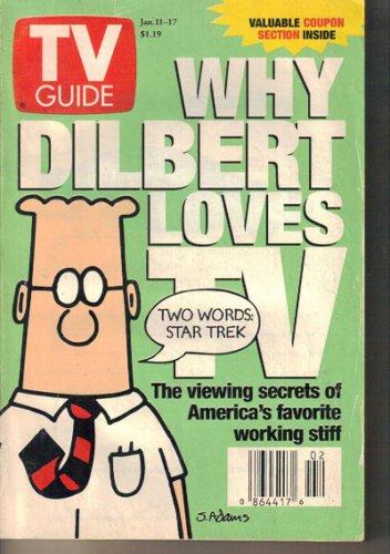 TV Guide 1/11/1997 Dilbert Lisa Ann Walter OJ Simpson Trial Absolutely Fabulous