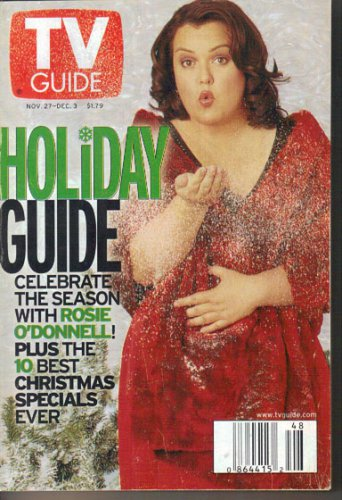 TV Guide 11/27/99 Holiday Guide Rosie O'Donnell Mandy Patinkin Enrique Iglesias