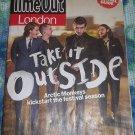 Time Out London 5/20/201 Arctic Monkeys Alex Turner MIA Joe Mount Metronomy
