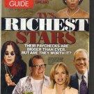 TV Guide 10/19/2002 TV's Richest Stars Kim Delaney Bill Clinton Sue Thomas