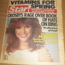 Star 3/29/1983 Victoria Principal Johnny Carson Prince William Rachel Ward