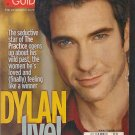 Dylan McDermott TV Guide 2/26/00 Kris Kristofferson Kimberly Williams NYPD Blue
