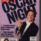 Billy Crystal Oscars TV Guide 3/24/1990 Paula Zahn Staci Keanan Anthony Quinn