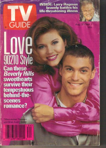 Beverly Hills 90210 TV Guide 8/26/1995 Tiffani-Amber Thiessen Brian Austin Green