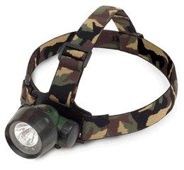 2-in-1 Krypton/3 LED Headlamp in Camoflage