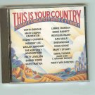 THIS IS YOU COUNTRY - Various Artists -CD -  1991