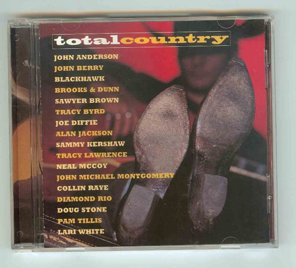 TOTAL COUNTRY CD - Various Artists - 1998