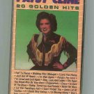 Patsy Cline - 20 Golden Hits 1987 CASSETTE